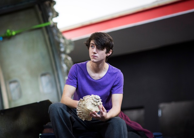 Luke Ward-Wilkinson as Ralph. Photo Helen Maybanks
